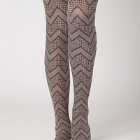 My Style Pinboard / zig zag tights for fall