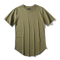 Plain Army Green T-Shirt