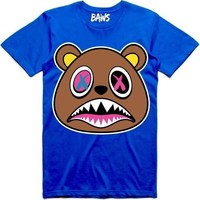 Crazy Baws Royal Blue Shirt
