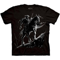 DARK KNIGHT The Mountain Horse Rider Death Medieval Fantasy T-Shirt S-3XL NEW