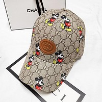 GUCCI x Disney Popular Women Men Sports Sun Hat Baseball Cap Hat