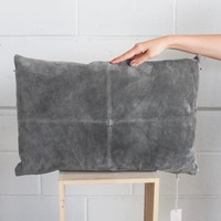 24x16 Suede Pillow