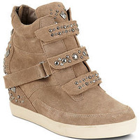 STEVEN by Steve Madden Shoes, Jazmen Wedge Sneakers - Shoes - Macy's
