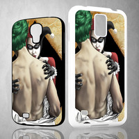 harley quinn and joker X0512 Samsung Galaxy S3 S4 S5 (Mini), Note 2 3 4, HTC One S X M7 M8  Cases