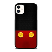 DISNEY MICKEY MOUSE BUTTON iPhone 11 Case