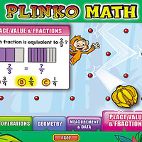 Math Skills Plinko Interactive Game - Gr. 3-4 at Lakeshore Learning