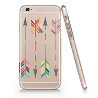 Arrows Clear Transparent Plastic Phone Case for iphone 6 6s_ SUPERTRAMPshop