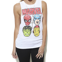 Marvel Twist Back Tank | Shop Tops at Wet Seal