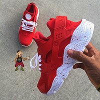 Custom Red Kool-Aid Nike Air Huaraches