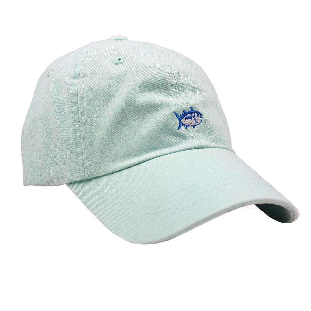 Image of Mini Skipjack Hat in Haint Blue by Southern Tide