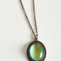 Aura You Ready? Mood Necklace | Mod Retro Vintage Necklaces | ModCloth.com