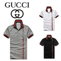 GUCCI Fashion men extended t shirt longline hip hop tee shirts mens polo ralph sport lauren justin bieber swag clothes harajuku rock tshirt homme