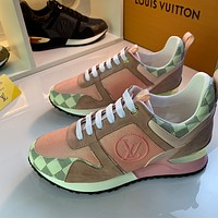 lv louis vuitton womans mens 2020 new fashion casual shoes sneaker sport running shoes 262
