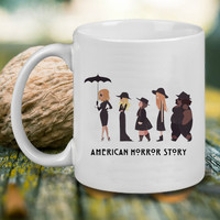 American Horror Story Mug Mug, Tea Mug, Coffee Mug