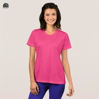 EnjoytheSpirit Female Plain T-shirt 16 Colors Grils Pink Fashion Round Neck T Shirt 100% Cotton Plus Size Casual Tee Tops Ladies