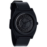 Nixon The Time Teller P Watch All Black Shadow One Size For Men 23425417801