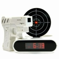 Gun O'Clock Shooting Alarm Clock|International Spy Museum Store
