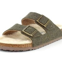Birkenstock Unisex Arizona Happy Lamb Sandal