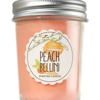 Mason Jar Candle Peach Bellini
