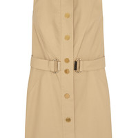 MICHAEL Michael Kors - Stretch-cotton poplin mini dress