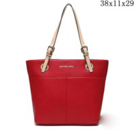 MK Women Shopping Bag Leather Tote Hand bag Shoulder Bag