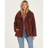 Billabong - Cozy Days Sherpa Jacket | Coco Berry