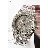 Audemars Piguet Tide brand men and women full of diamonds British watch #3