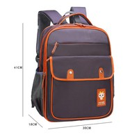 School Backpack trendy New School Bag Pupils Korean Style Children's Backpack For Boys Girls Primary Student Kids Bag Large Capacity Schoolbag Satchel AT_54_4