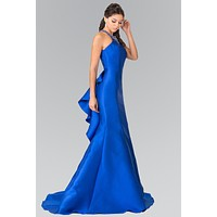 Mermaid Satin Prom Dress  #gl2353