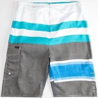 O'neill Lennox Mens Boardshorts White Combo  In Sizes