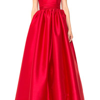 Off-The-Shoudler Silk Ballgown | Moda Operandi