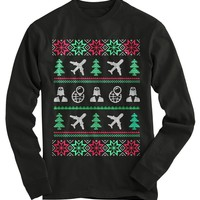 Flight Attendant Ugly Christmas Sweater