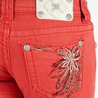 Miss Me Floral Skinny Stretch Jean - Women's Jeans | Buckle