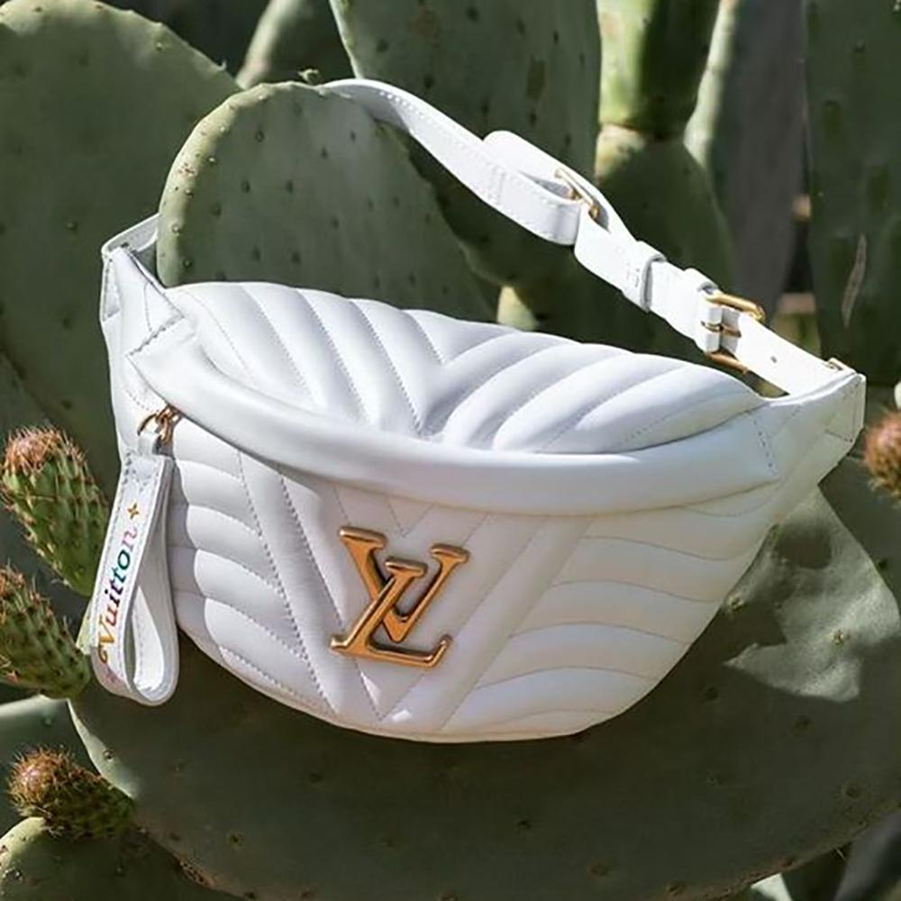 Image of LV Louis Vuitton Twill Embroidery Fashion Casual Waist Bag Chest Bag Shoulder Messenger Bag