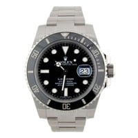ROLEX Submariner Stainless Steel Ceramic Bezel 116610LN Watch