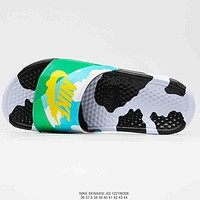 Nike summer new men's and women's slippers shoes