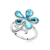 Shiny Stylish New Arrival Gift Jewelry Crystal Ring [4989614276]