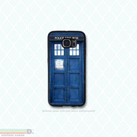 Dr. Who Tardis, Custom Phone Case for Galaxy S4, S5, S6