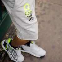 Drip Keys Cut Off Terry Shorts Volt