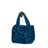 Tote Bag; Crochet Bag; Colorful Bag, Macaw