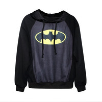 Spring Autumn Harajuku Galaxy Sport Suit Women Sweatshirt Batman Hoodie 3D Print Pullovers Loose Hoodies Sportswear Man's Causal Outwear = 1828187140
