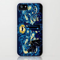 The Dark Starry Knight apple iPhone 4 4s, 5 5s 5c, 6, iPod & samsung galaxy s4 case