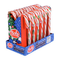 Bob's Giant 2.5-Ounce Peppermint Candy Canes: 24-Piece Display