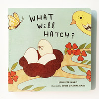 What Will Hatch? -- Picture Book about animals that hatch from eggs