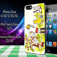 Winnie The Pooh Samsung Galaxy S3/ S4 case, iPhone 4/4S / 5/ 5s/ 5c case, iPod Touch 4 / 5 case