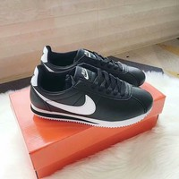 """""""Nike Cortez"""" Unisex Casual Fashion Leather Running Shoes Couple Retro Sneakers"""