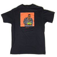 Heist And Co: Biggie Cut Out Shirt - Black