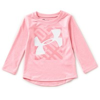 Under Armour Baby Girls 12-24 Months Logo-Detailed Long-Sleeve Tee | Dillards