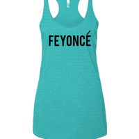 Feyonce-Fiance Bachelorette Tank for the Bride