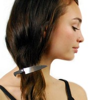 Chef's Knife Hair Clip - BACK IN STOCK 8/12